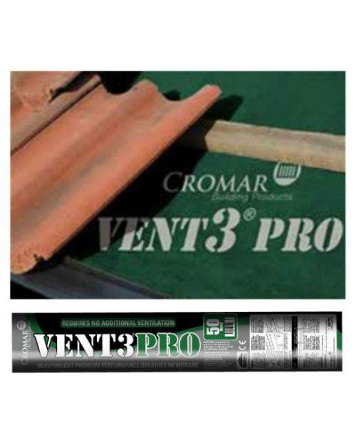 Cromar Vent 3 Pro Breathable Felt - 1.5mm x 50m