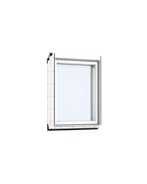 VELUX VIU MK35 0070 White Laminated Fixed Vertical Element 78x95cm